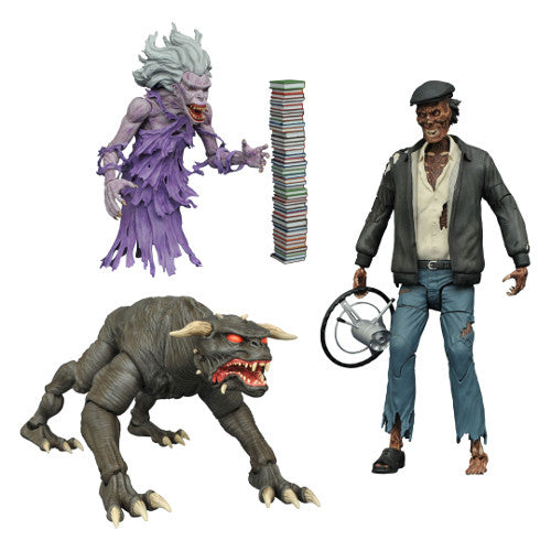 Ghostbusters Select Action Figures Series 5 Set - Diamond Select - Woozy Moo