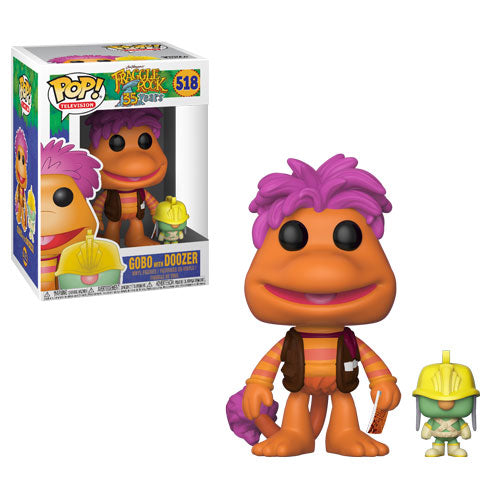 Gobo with Doozer | Fraggle Rock | POP! Television Vinyl Figure 518 | Funko | Woozy Moo