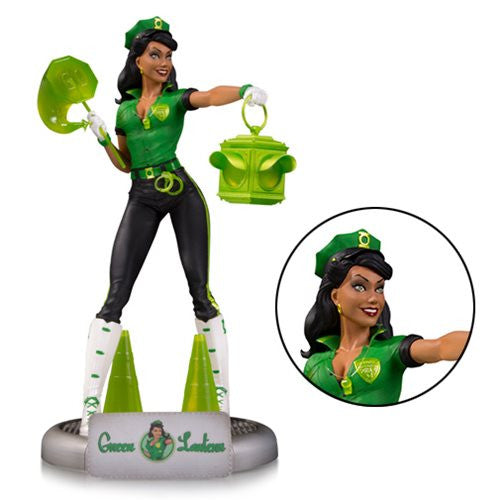 Green Lantern (Jessica Cruz) | DC Comics | Ant Lucia Bombshells Statue | DC Collectibles | Woozy Moo