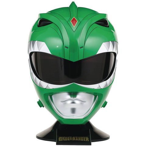 Green Ranger Helmet Mighty Morphin Power Rangers Legacy