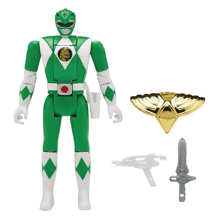 "Green Ranger | Mighty Morphin Power Rangers Legacy Head Morph 5"" Action Figure 