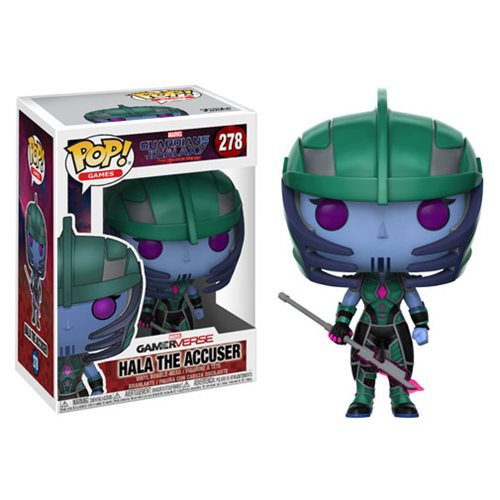 Hala the Accuser | Marvel: Guardians of the Galaxy: The Telltale Series | POP! Games #278 GamerVerse Vinyl Bobble-head | Funko | Woozy Moo
