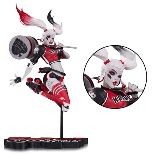 Harley Quinn (Babs Tarr) | DC Comics | Red, White & Black Statue | DC Collectibles | Woozy Moo