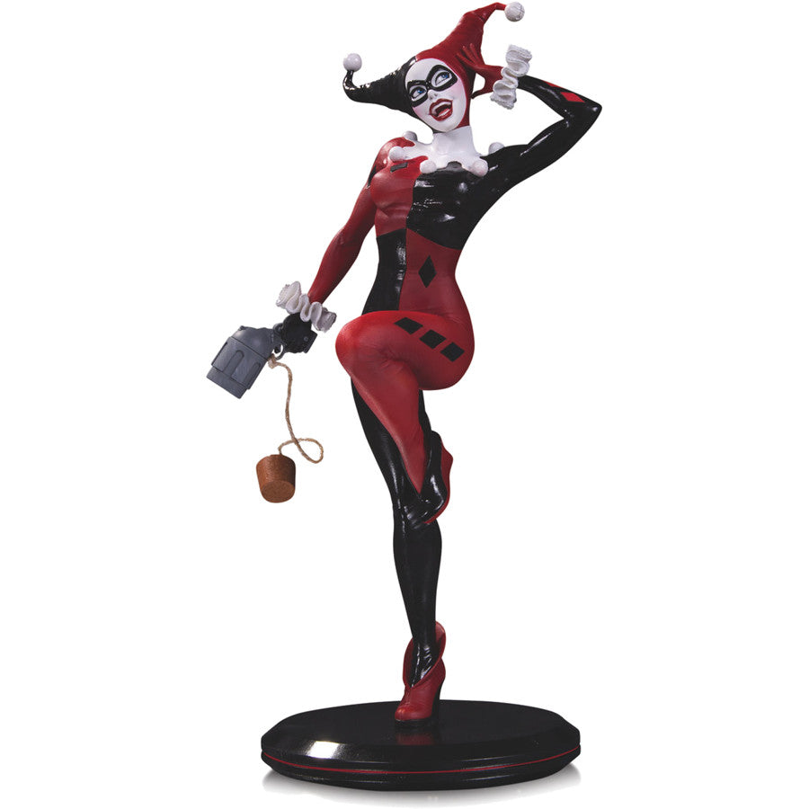 Harley Quinn by Joelle Jones | DC Cover Girls Statue | DC Collectibles / Jack Mathews | Woozy Moo