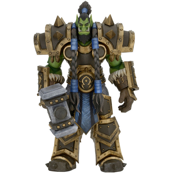 "Heroes of the Storm - Thrall 7"" Scale Action Figure - Blizzard - NECA - Woozy Moo"