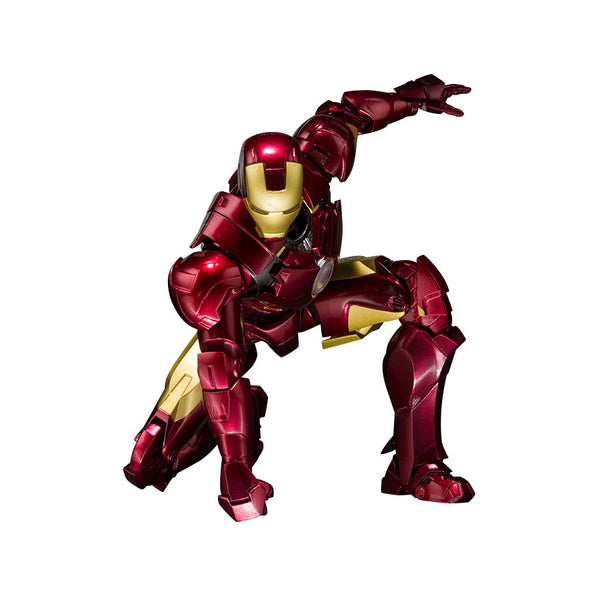 Iron Man Mark IV and Hall of Armor Set (Robert Downey Jr. as Tony Stark) | Marvel Cinematic Universe | S.H.Figuarts | Bandai Tamashii Nations | Woozy Moo