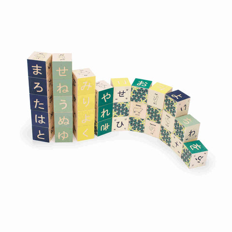 Japanese Language Building Blocks - Uncle Goose