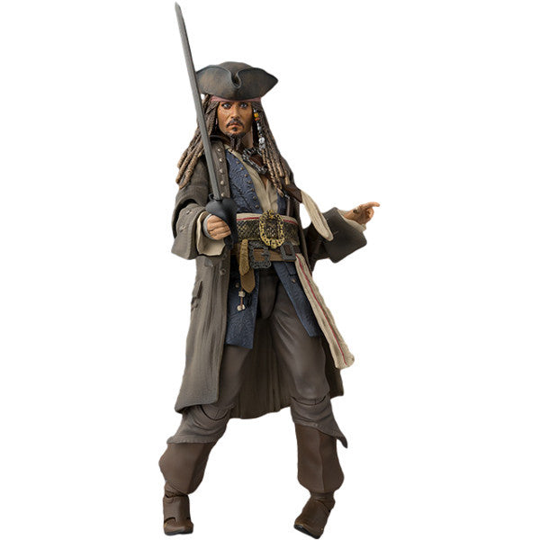 Jack Sparrow - Disney's Pirates of the Caribbean: Dead Men Tell No Tales - S.H.Figuarts - Bandai Tamashii Nations - Woozy Moo