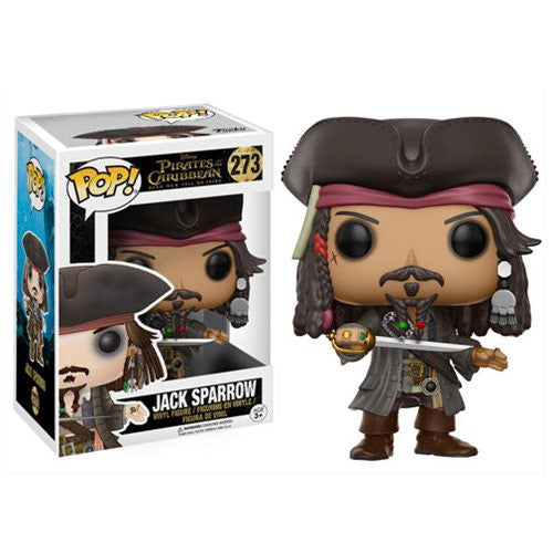 Jack Sparrow (Johnny Depp) - Disney's Pirates of the Caribbean: Dead Men Tell No Tales - Pop! Vinyl Figure - Funko - Woozy Moo