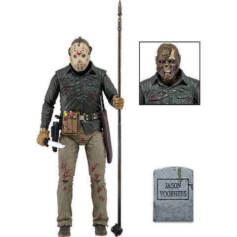 "Jason Friday the 13th 7"" Scale Action Figure Ultimate"
