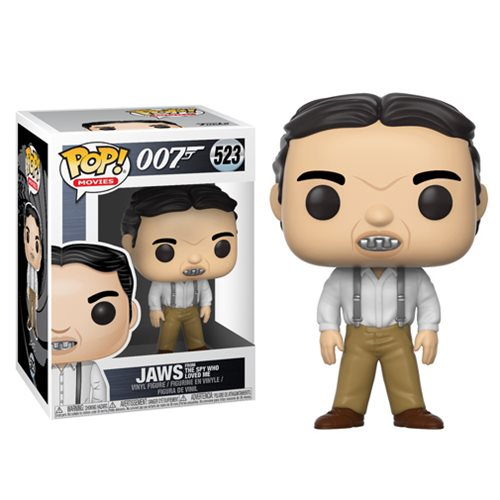 Jaws from The Spy Who Loved Me | 007 | POP! Movies Vinyl Figure #523 | Funko | Woozy Moo