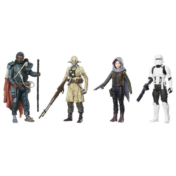 Star Wars: Rogue One Jedha Revolt 3.75'' Figure 4-Pack