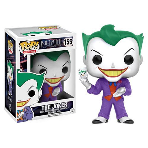 Batman: The Animated Series - Joker Pop! Vinyl Figure - Funko - Woozy Moo