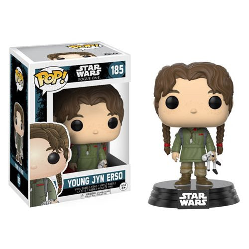 Young Jyn Erso (Beau and Dolly Gadsdon) - Star Wars: Rogue One - Pop! Vinyl Bobble-head - Funko - Woozy Moo