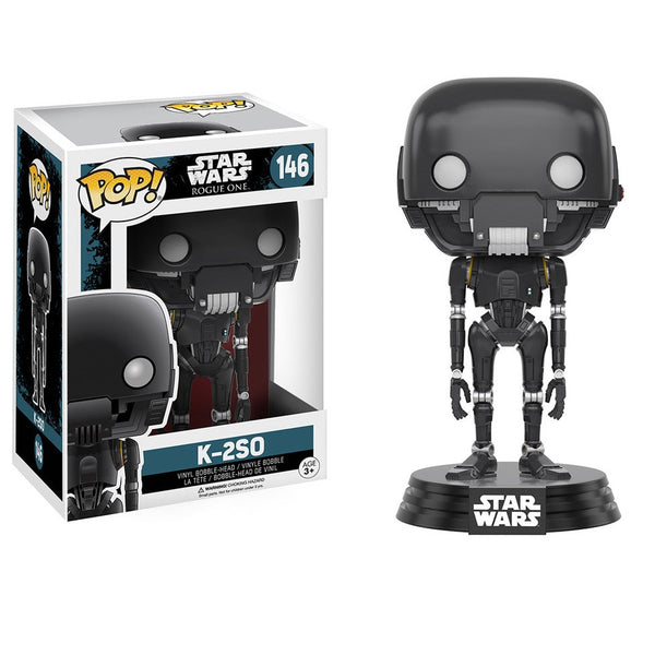 Star Wars Rogue One - K-2SO Pop! Vinyl Figure - Funko - Woozy Moo