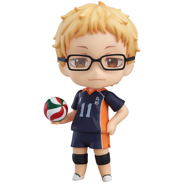 Tsukishima Kei - Haikyu (Haikyū, Haikyuu) - Nendoroid 616 - Orange Rouge (Good Smile Company) - Woozy Moo