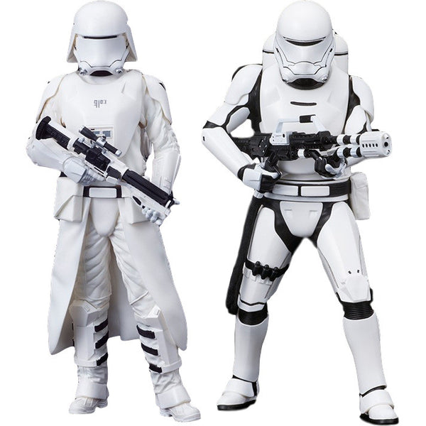 First Order Snowtrooper & Flametrooper Two-pack - Star Wars: Episode VII – The Force Awakens - ArtFX+ 1/10 Scale Statue - Kotobukiya - Woozy Moo