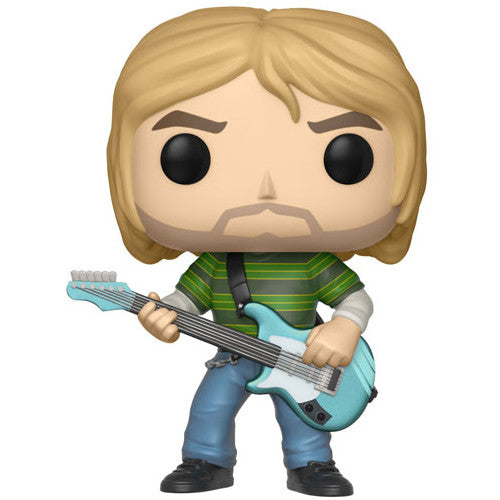 Kurt Cobain (Striped Shirt) | POP! Rocks Vinyl Figure | Funko | Woozy Moo