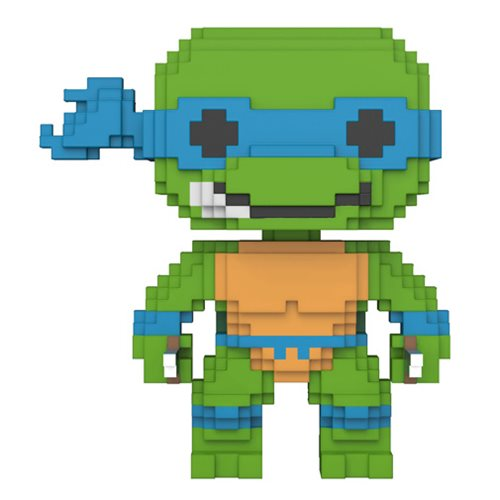Leonardo | Teenage Mutant Ninja Turtles | 8-Bit POP! Vinyl Figure #04 | Funko | Woozy Moo