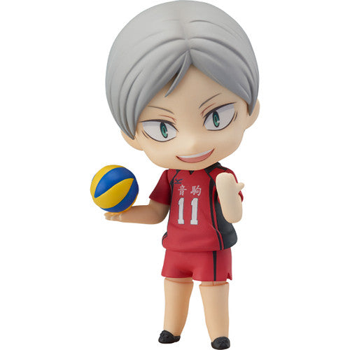 Haiba Lev | Haikyu!! (ハイキュー!!, Haikyū!!, Haikyuu!!) | Nendoroid No. 806 | Orange Rouge (Good Smile Company) | Woozy Moo