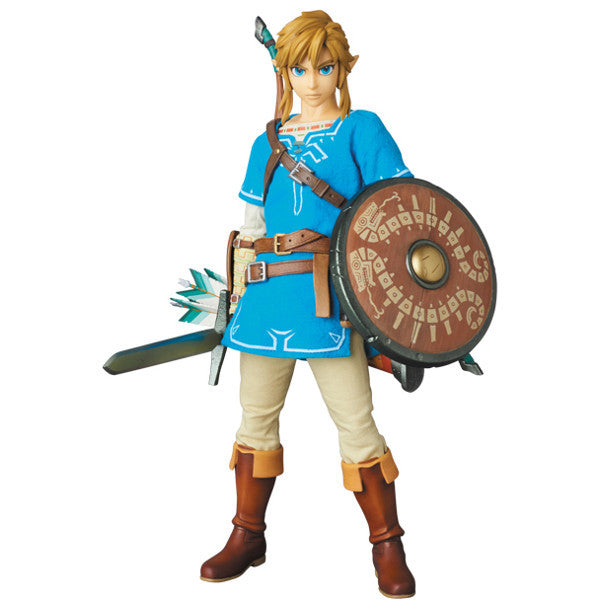 Link - The Legend of Zelda: Breath of the Wild - Real Action Heroes No.764 - Medicom - Woozy Moo