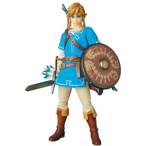 Link Zelda Breath Wild RAH 764 (The Legend of Zelda Breath of the Wild Real Action Heroes)