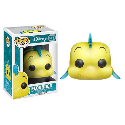Disney - The Little Mermaid - Flounder Pop! Vinyl Figure - Funko - Woozy Moo