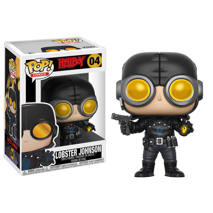 Lobster Johnson | Hellboy | POP! Comics Vinyl Figure 04 | Funko | Woozy Moo