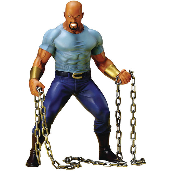 Luke Cage | Marvel's The Defenders | ArtFX+ 1/10 Scale Statue | Kotobukiya | Woozy Moo