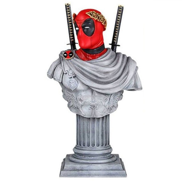 Deadpool - Marvel Caesar Classic Bust - Gentle Giant - Woozy Moo - 1
