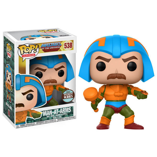 Man-at-Arms - Masters of the Universe - Pop! Television Vinyl Figure Specialty Series Exclusive - Funko - Woozy Moo