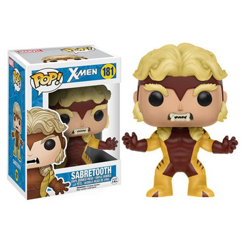 Marvel X-Men Pop! Vinyl Figure Classic Sabretooth - Funko - Woozy Moo