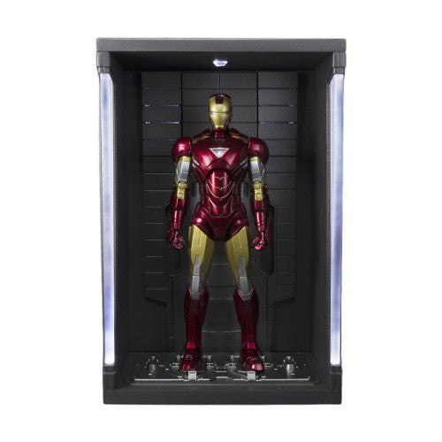 Marvel: S.H. Figuarts - Iron Man Mark VI and Hall of Armor Set - Bandai - Woozy Moo - 1