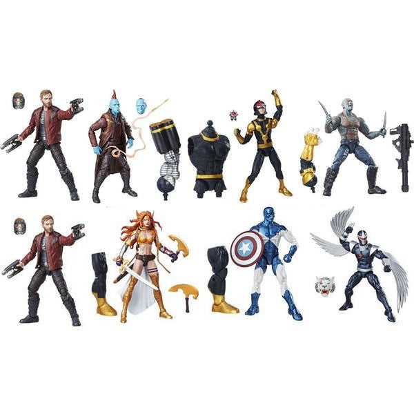 Marvel Legends Guardians of the Galaxy: Vol. 2 - Set of 8 - Hasbro - Woozy Moo - 1