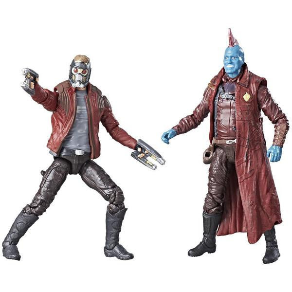 Star-Lord & Yondu | Guardians of the Galaxy Vol. 2 | Marvel Legends Action Figures 2-Pack | Hasbro | Woozy Moo