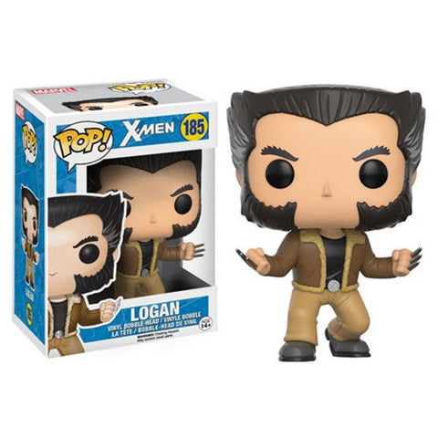 Marvel X-Men Pop! Vinyl Figure Logan (Wolverine)