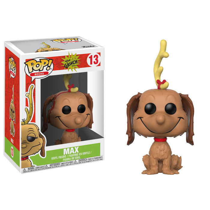 Max the Dog | Dr. Seuss | POP! Books Vinyl Figure #13 | Funko | Woozy Moo