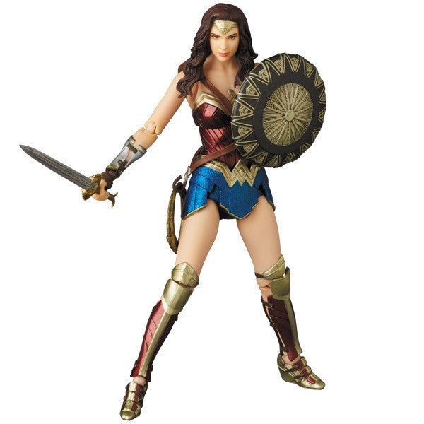 Wonder Woman - MAFEX No. 048 (Miracle Action Figure) - Medicom - Woozy Moo