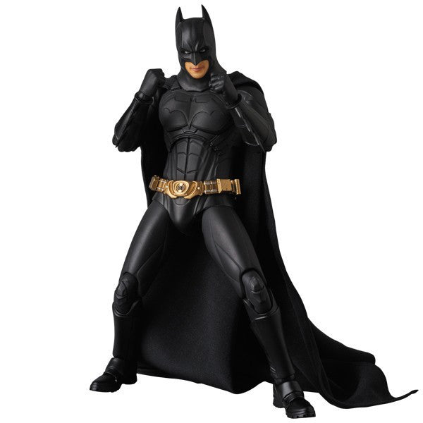Batman Begins Suit (Christian Bale) | The Dark Knight Trilogy: Batman Begins | MAFEX No. 049 (Miracle Action Figure) | Medicom | Woozy Moo