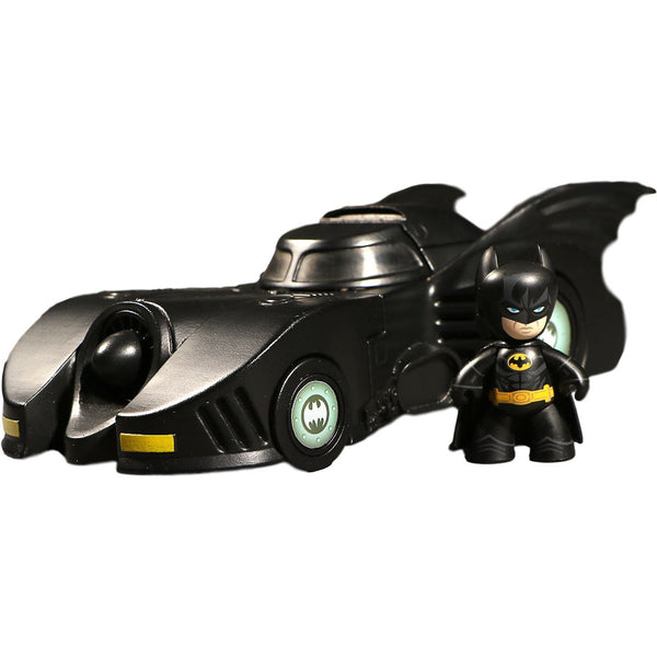 Batman and Batmobile - Tim Burton 1989 Batman - Mez-itz - Mezco Toyz - Woozy Moo