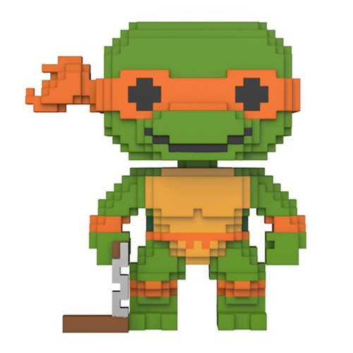 Michelangelo | Teenage Mutant Ninja Turtles | 8-Bit POP! Vinyl Figure #07 | Funko | Woozy Moo