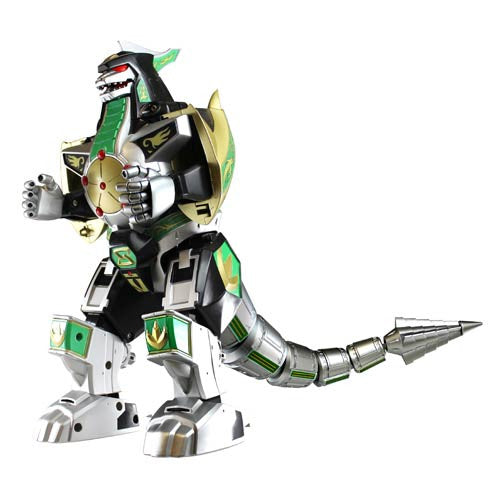 Mighty Morphin Power Rangers - Legacy Dragonzord Action Figure - Bandai - Woozy Moo