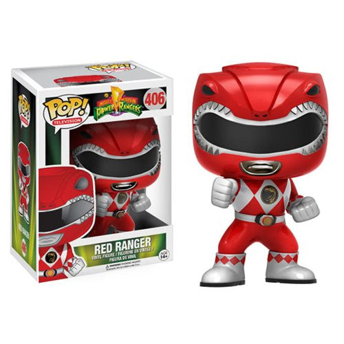 Mighty Morphin' Power Rangers Red Ranger Pop! Vinyl Figure - Funko - Woozy Moo