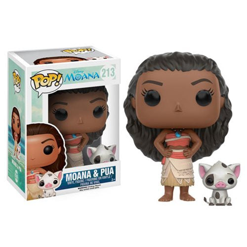Disney Moana and Pua Pop! Vinyl Figures - Funko - Woozy Moo