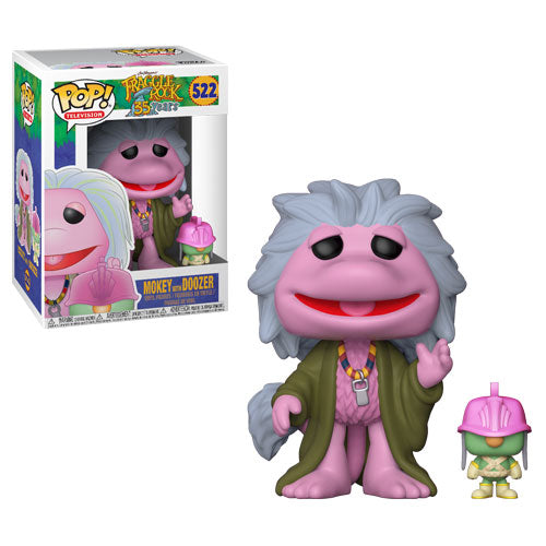 Mokey with Doozer | Fraggle Rock | POP! Television Vinyl Figure 522 | Funko | Woozy Moo