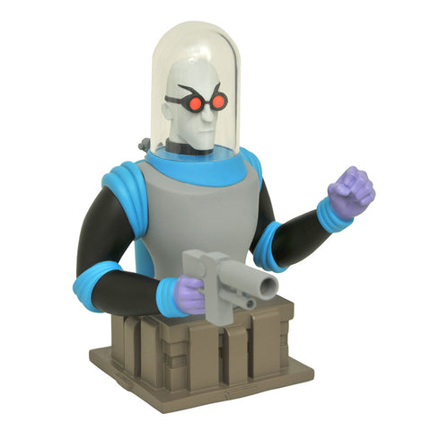 "Mr Freeze Batman Animated 6"" Resin Bust Limited Edition"
