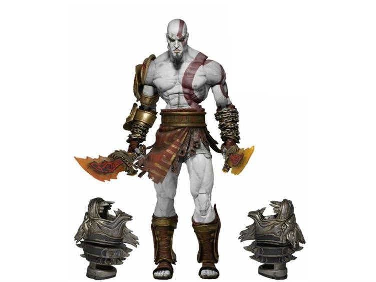 "God of War 3 - Ultimate Kratos 7"" Figure - NECA - Woozy Moo - 1"