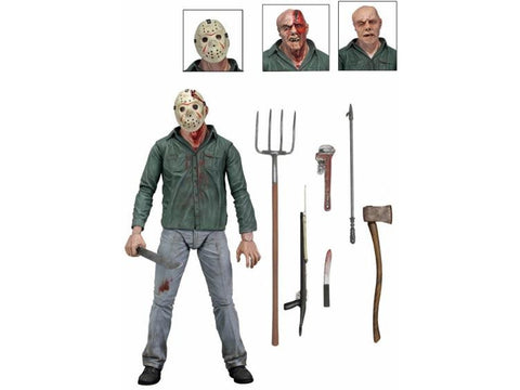 "Friday The 13th Part 3: 7"" Ultimate Action Figure - Jason"