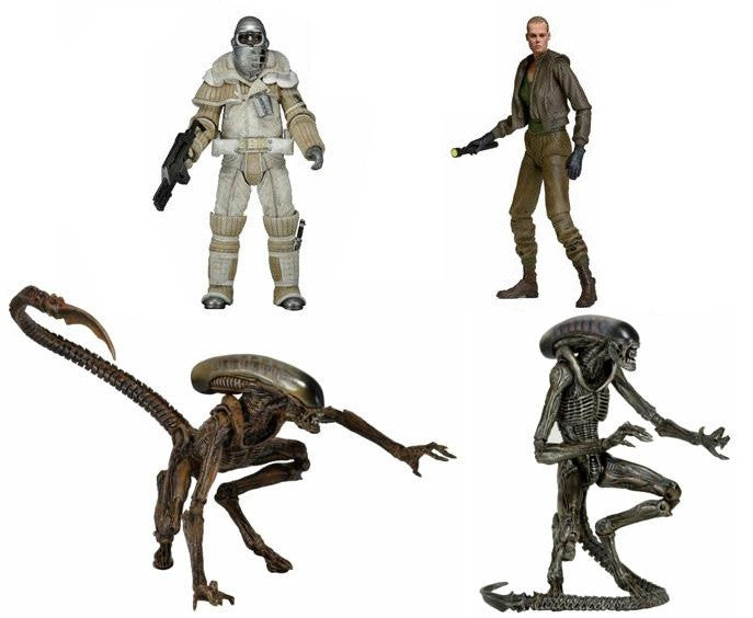 "Alien 3: 7"" Figure Series 8 - Set of 4 - NECA - Woozy Moo"