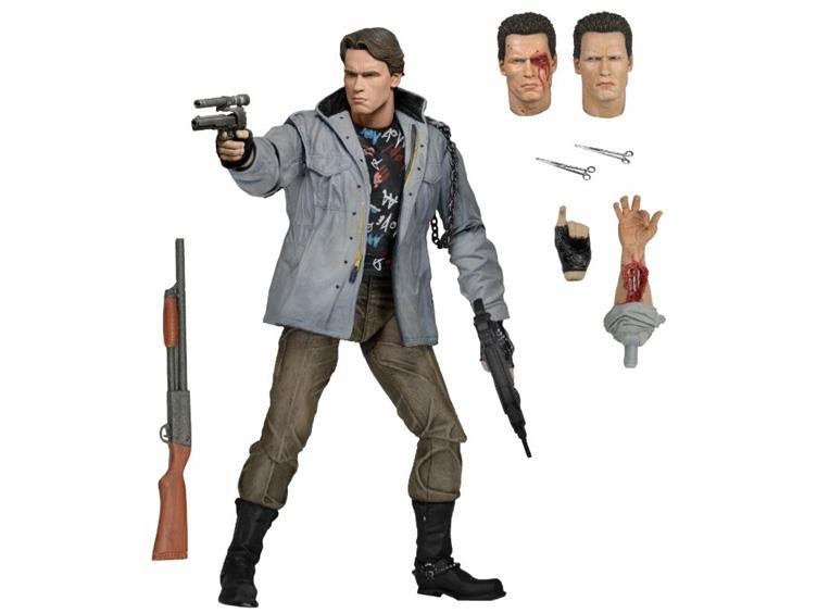 "Terminator 7"" Ultimate Action Figure  T-800 (Tech Noir) - NECA - Woozy Moo"
